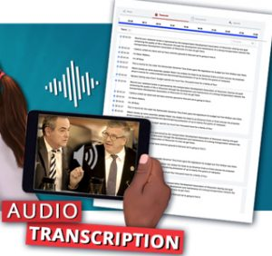 Audio Transcription graphic