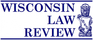 wisconsin law review masthead logo